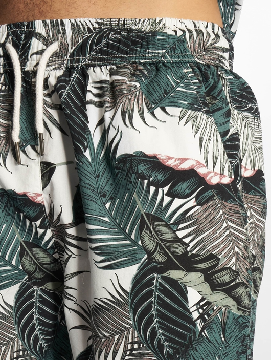 Urban Classics Pattern Resort Shorts Palm Leaves image number 3