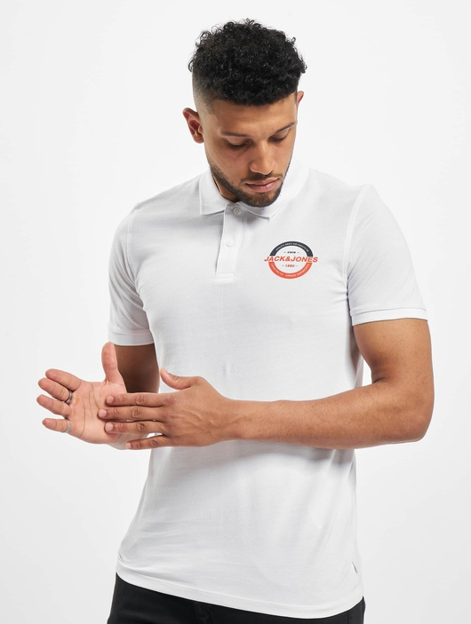 Jack & Jones jcoStrong Polo Shirt White image number 0