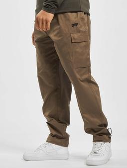 DEF Cargo Pants Beige