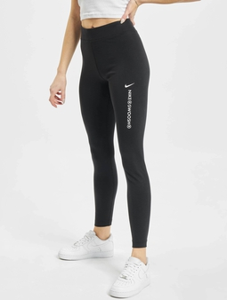 Nike W Nsw Swsh Hr Leggings Dk Grey Heather/White