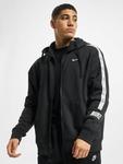 Nike Repeat Fleece Full Zip Hoodie Black/Reflective Silvern