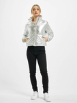 Urban Classics Ladies Metalic  Puffer Jackets image number 7
