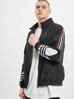 Adidas Originals Tricolor Track Jacket Black
