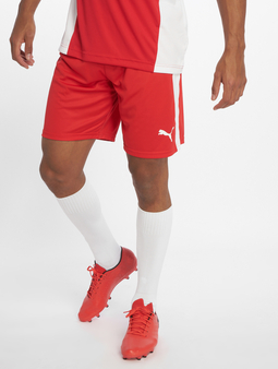 Puma LIGA Shorts Red/White
