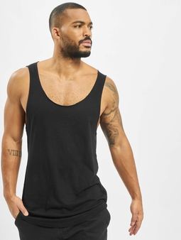Urban Classics Long Shaped Open Edge Loose Tank Top