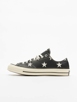 Converse Chuck 70 Archive Print Leather Sneakers Black/Egret/White