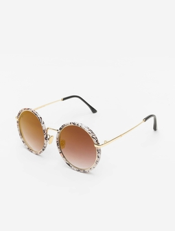 MSTRDS January Sunglasses Creme Marmor
