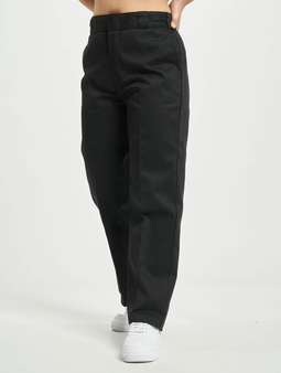Dickies 874 Cropped Chino Pants Black