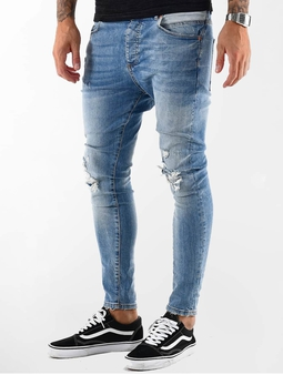 VSCT Clubwear Thor Slim 5 Pocket Destroyed Jeans
