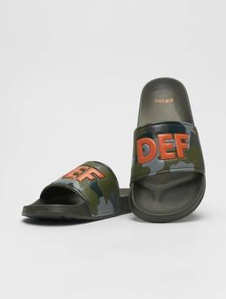 DEF Defiletten Sandals Camouflage