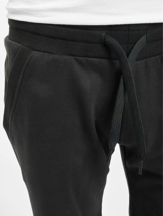 Urban Classics Light Turnup Sweat Shorts Black image number 3