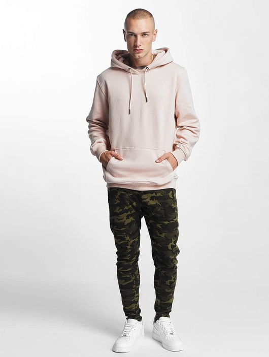 Urban Classics Interlock Camo Sweatpants Wood Camouflage image number 2