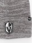 '47 NHL Vegas Golden Knights Brain Freeze Cuff Knit Beanie Dark Grey image number 1