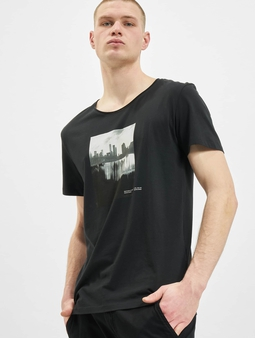 Jack & Jones jorNobody Black T-Shirt Cloud Dancer/Reg