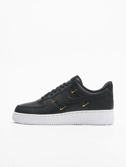 Nike WMNS Air Force 1 '07 LX Sneakers Black/Black-Metallic Golden-Hyper