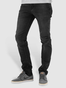 Reell Jeans Spider Slim Fit Jeans Black Wash