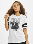 Mister Tee 2Pac Stripes T-Shirt White image number 2