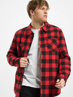 Urban Classics Padded Check Flannel Shirt
