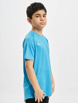 Puma Performance Junior T-Shirt Bleu Azur/Red Blast