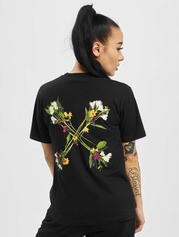 Off-White Flock Arrow Casual T-skjorter svart