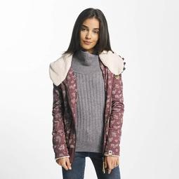 Ragwear Cara Zip Organic Pullover Dark Choco Melange