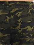 Urban Classics Interlock Camo Sweatpants Wood Camouflage image number 4