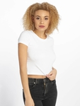 Urban Classics Stretch Jersey Cropped T-Shirt Black image number 2