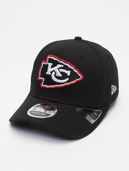 New Era Nfl Properties Kansas City Chiefs Neon Pop Outline 9fifty Snapback Cap Black
