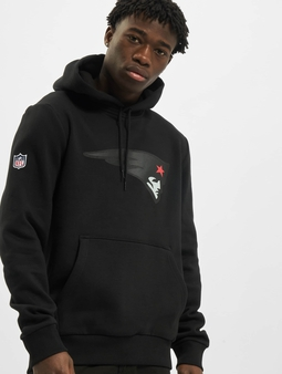 New Era NFL QT Outline Graphic New England Patriots Hoody Black