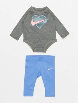 Nike Ls Nike Block Bodysuit Legging Set Body Royal Pulse