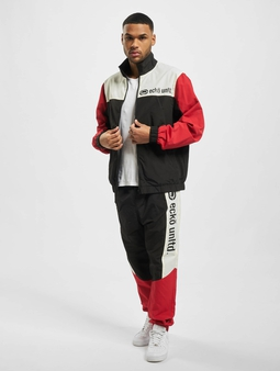Ecko Unltd. E Big Sweatsuit Black/Red/Off White