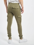 Urban Classics Fitted Cargo Sweatpants Olive image number 1