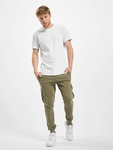 Urban Classics Fitted Cargo Sweatpants Olive image number 6