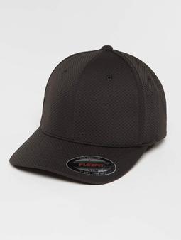 Flexfit 3D Hexagon Jersey Cap Black