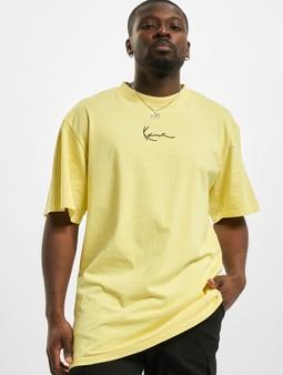 Karl Kani Small Signature Washed T-Shirt Light Yellow