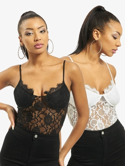 Missguided 2 Pack Lace Body