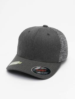 Flexfit Melange Mesh Trucker Cap Black/Neon