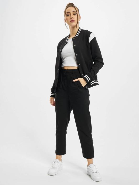 Urban Classics Ladies Organic Inset College  College Jackets image number 4