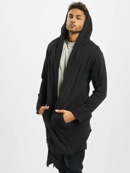 Urban Classics Long Hooded Open Edge Cardigan