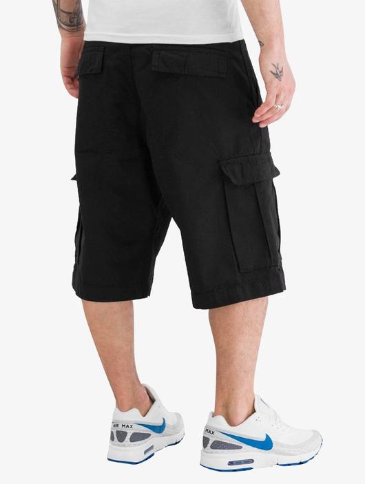 Urban Classics Camouflage Cargo Shorts Black (W 28 black) image number 1