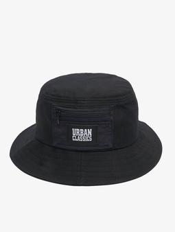 Urban Classics Canvas Logo Bucket Snapback Cap