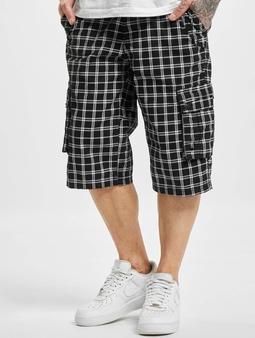 Sublevel Haka Cargo Shorts Black/White
