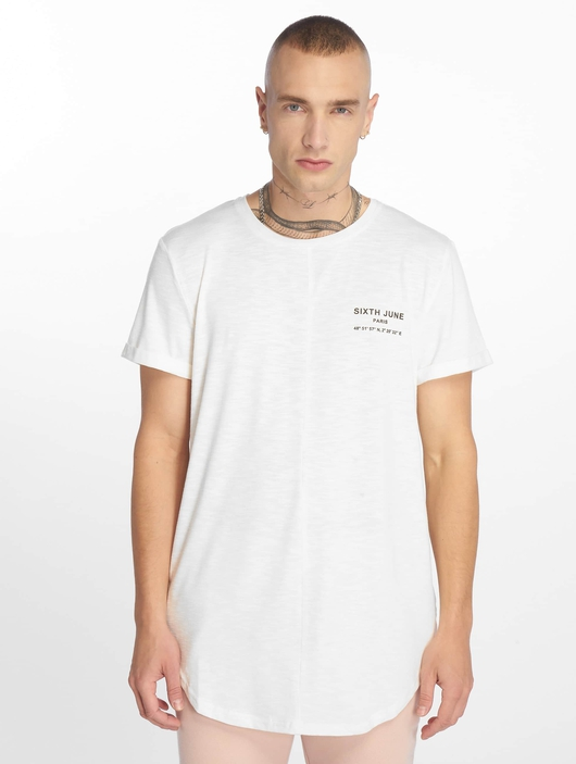 Sixth June Rounded T-Shirt Off White image number 2