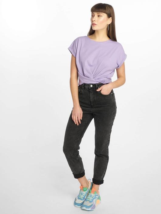 Urban Classics Extended Shoulder T-Shirt Teal image number 4