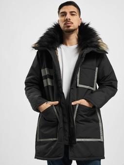 Vsct Clubwear Chunk Reflective 2-Fur Freezer J Coat