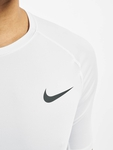 Nike Pro Short Sleeve Tight Compressionsshirt Black/White image number 4