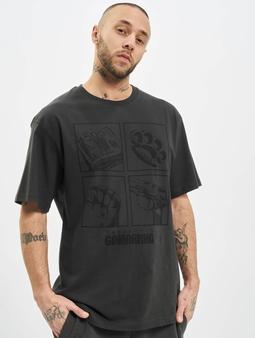 Dangerous DNGRS x Gomorrha  T-skjorter grå