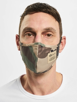 Alpha Industries Tactical Face Mask Wdl Camo 65