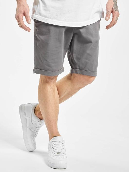 Urban Classics Stretch Turnup Chino Shorts Dark Olive image number 0