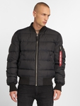 Alpha Industries MA-1 Puffer Jacket Black image number 3